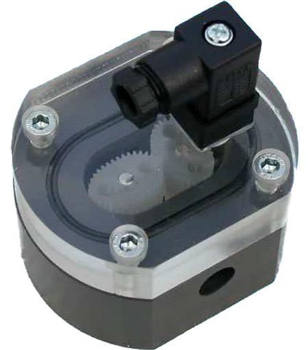 Ovalrad-Durchfluss-Messturbine