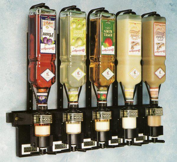 Wanddosierer mit Digitalzähler und Kompakthalter