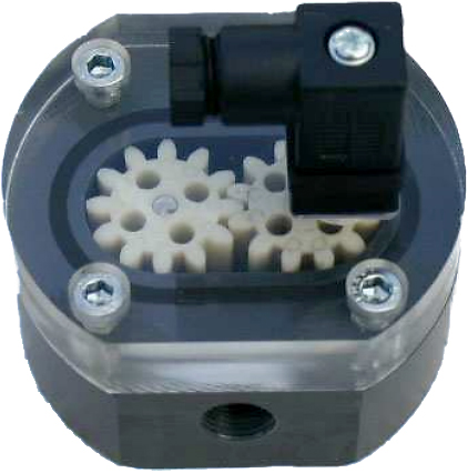 Zahnrad-Durchfluss-Messturbine